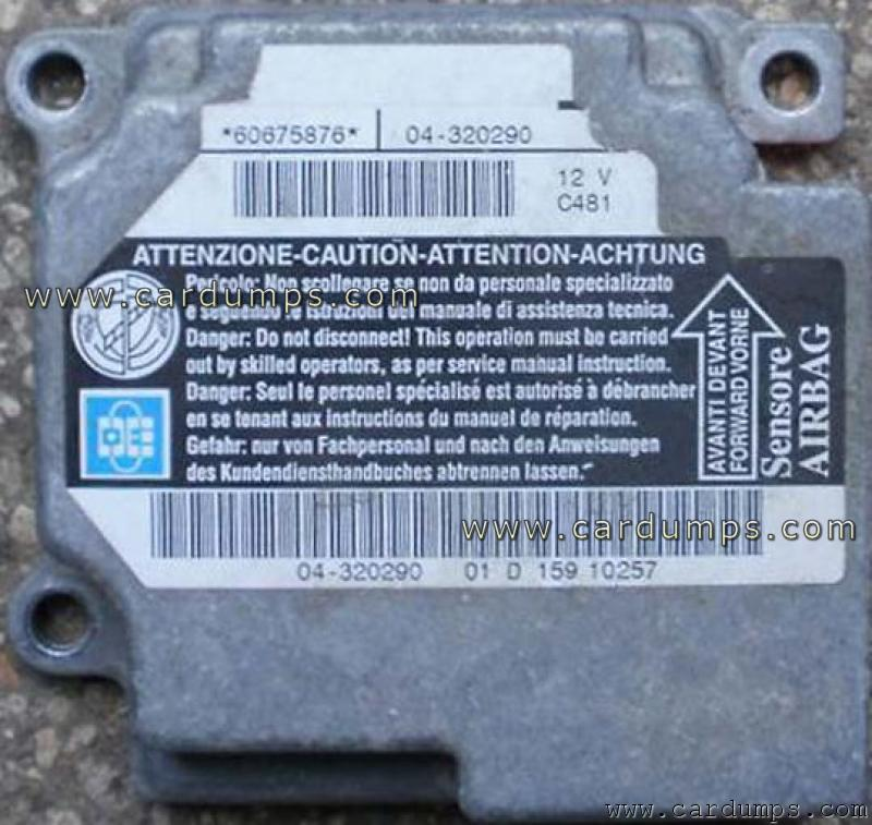 Alfa Romeo 156 airbag MC68HC908AS60 60675876